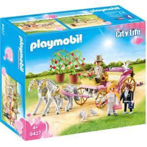 Playmobil Γαμήλια Άμαξα Με Νεόνυμφους 9427 #787.342.037, narlis.gr