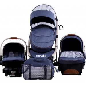 Carello Trio M30 Premium Edition Patchwork Blue.(237.097.002)