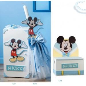 Disney Mickey Ντουλάπα Ν205(900)Λαμπάδα ΝΛ200(620)