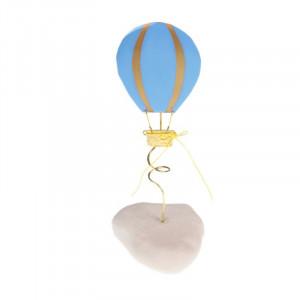 Μπομπονιέρα Βάπτισης Αερόστατο σε Βότσαλο (Andronidis) (Κωδ.4105Α)