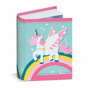 Μπομπονιέρα Βάπτισης Χάρτινο κουτί  βιβλίο με μονόκερος 81615-110 Parisis Ζητήστε προσφορά !!!!