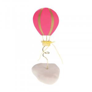 Μπομπονιέρα Βάπτισης Αερόστατο σε Βότσαλο (Andronidis) (Κωδ.4105Β)