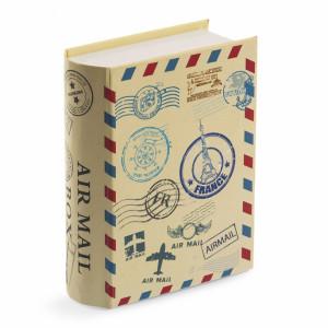 Μπομπονιέρα Βάπτισης Βιβλίο κουτί για προσκλητήριο ταξίδια 81450-107 Parisis Ζητήστε προσφορά !!!!