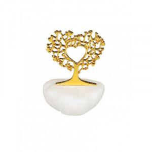 Μπομπονιέρα Βότσαλο Δέντρο Zωής Καρδιά (Andronidis) (Κωδ.4103)
