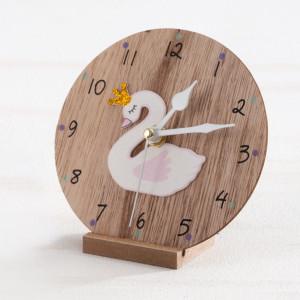 Μπομπονιέρα Βάπτισης Ξύλινο ρολόι Κύκνος 18Γ994-235 Parisis Ζητήστε προσφορά !!!!