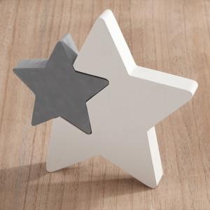 Μπομπονιέρα Βάπτισης Ξύλινο διακοσμητικό αστέρι 18Γ1150-156 Parisis Ζητήστε προσφορά !!!!