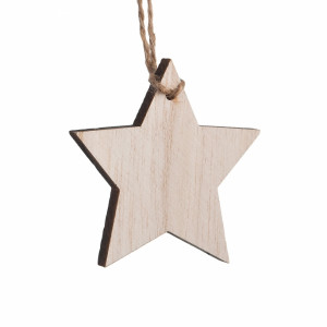 Μπομπονιέρα Βάπτισης Ξύλινο κρεμαστό αστέρι 17132-Φ-030 Parisis Ζητήστε προσφορά !!!!