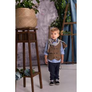 Ολοκληρωμένο πακέτο βάπτισης με αυτό το κουστούμι Baby bloom 120.38 narlis.gr