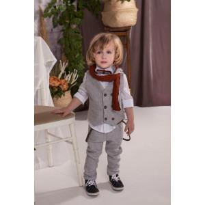 Ολοκληρωμένο πακέτο βάπτισης με αυτό το κουστούμι Baby bloom 120.45 narlis.gr