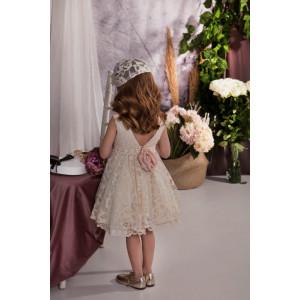 Ολοκληρωμένο πακέτο σετ βάπτισης με αυτό το φόρεμα Baby bloom 120.143 narlis.gr
