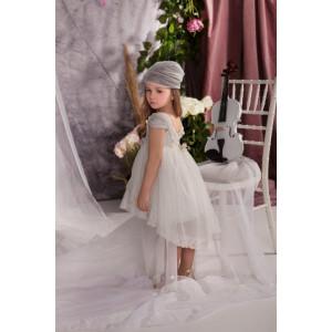 Ολοκληρωμένο πακέτο σετ βάπτισης με αυτό το φόρεμα Baby bloom 120.118 narlis.gr