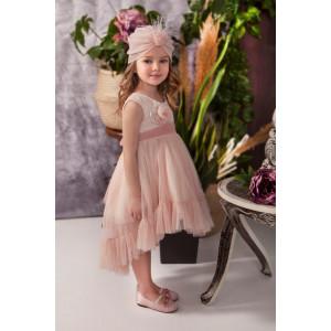 Ολοκληρωμένο πακέτο σετ βάπτισης με αυτό το φόρεμα Baby bloom 120.122 narlis.gr
