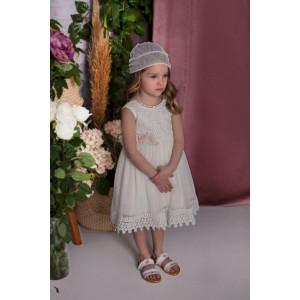 Ρούχο σετ βάπτισης κορίτσι Baby bloom narli.gr