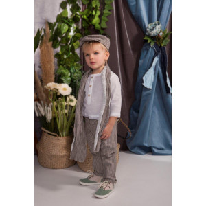 Ολοκληρωμένο πακέτο βάπτισης με αυτό το κουστούμι Baby bloom 120.55 narlis.gr