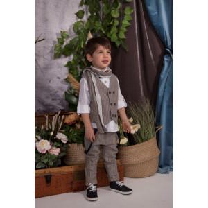 Ολοκληρωμένο πακέτο βάπτισης με αυτό το κουστούμι Baby bloom 120.52 narlis.gr