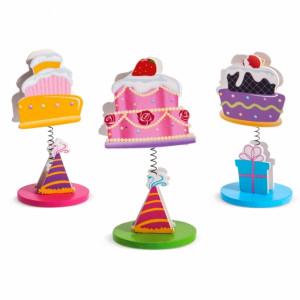 Μπομπονιέρες Βάπτισης Ξύλινο Μανταλάκι Cupcakes 13Ε284 Parisis