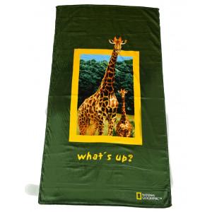 Πετσέτα Θαλάσσης Καμηλοπάρδαλη National Geographic (Κωδ.036.206.006)