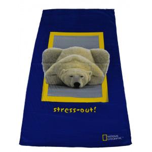 Πετσέτα Θαλάσσης Αρκούδα National Geographic (Κωδ.036.206.007)