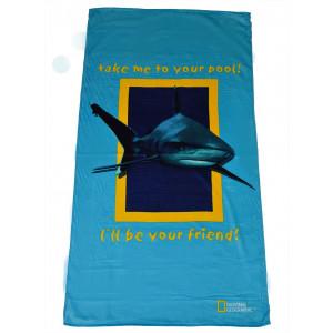 Πετσέτα Θαλάσσης Καρχαρίας National Geographic (Κωδ.036.206.008)