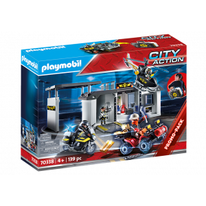Playmobil Αρχηγείο Ομάδας Ειδικών Αποστολών-Βαλιτσάκι 70338, narlis.gr