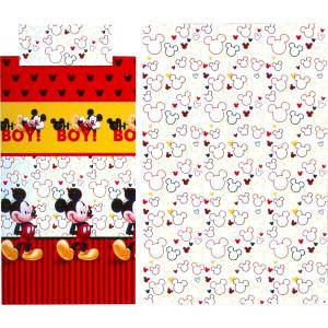 Σετ Σεντόνια 3τμχ Mickey (726/1) Disney (Κωδ.621.136.007) (Με Δωροεπιταγή 5€)
