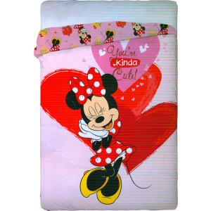 Πάπλωμα Minnie Disney (Κωδ.621.122.016) (Με Δωροεπιταγή 6 €)