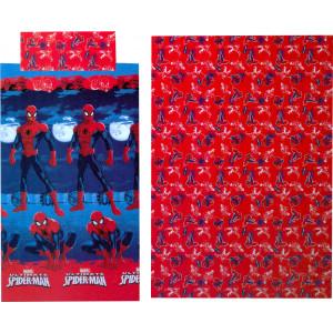 Σετ Σεντόνια 3τμχ Spiderman Disney (Κωδ.621.136.010) (Με Δωροεπιταγή 5€)