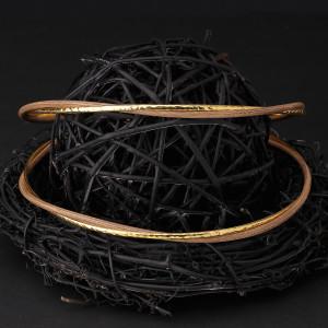 Στέφανα γάμου από ξύλο με ασήμι 925 και gold 24 καρατίων (Authentique art Κωδ.Ξ0520)