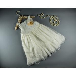 Ολοκληρωμένο πακέτο βάπτισηs με αυτό το φόρεμα (S&N by Bomboniera Κωδ.090-11)   Με βαλίτσα rain η παγκάκι θρανίο Δωρεάν μεταφορικά!!!