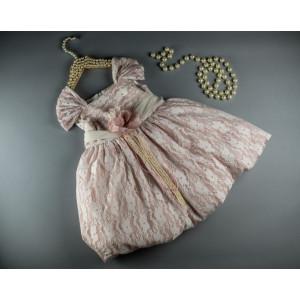 Ολοκληρωμένο πακέτο βάπτισηs με αυτό το φόρεμα (S&N by Bomboniera Κωδ.092-11)   Με βαλίτσα rain η παγκάκι θρανίο Δωρεάν μεταφορικά!!!
