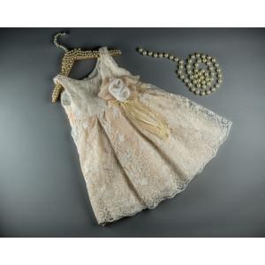 Ολοκληρωμένο πακέτο βάπτισηs με αυτό το φόρεμα (S&N by Bomboniera Κωδ.095-11)   Με βαλίτσα rain η παγκάκι θρανίο Δωρεάν μεταφορικά!!!