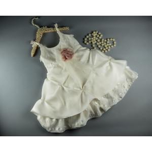 Ολοκληρωμένο πακέτο βάπτισηs με αυτό το φόρεμα (S&N by Bomboniera Κωδ.096-11)   Με βαλίτσα rain η παγκάκι θρανίο Δωρεάν μεταφορικά!!!
