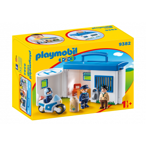 Playmobil, Βαλιτσάκι Αστυνομικό Τμήμα, 9382, narlis.gr