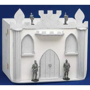 Μπαόυλο ξύλινο καστρο με ιππότες Κωδ.Κ226ΙΠ