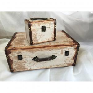 Βαλίτσα ξύλινη ΒΑΛ3-1 VINTAGE narlis.gr