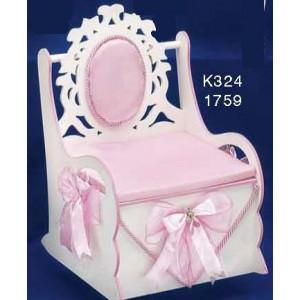 Καρέκλα ξύλινη με μαξιλάρι Κωδ.Κ324