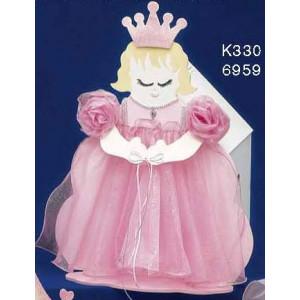 Κουτί ξύλινο πριγκίπισσα Κωδ.Κ330