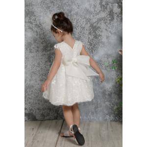 Ολοκληρωμένο σετ βάπτισης φόρεμα Mi Chiamo Κ4312Φ narlis.gr