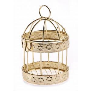 Μπομπονιέρες Γάμου Βάπτισης Κλουβάκι Μεταλλικό NU1802 Nuova Vita
