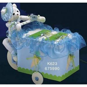 Κουτί ξύλινο παγωτατζής Κωδ.Κ623