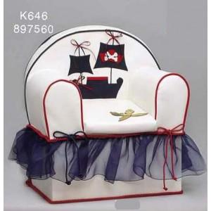 Πολυθρόνα δερματίνη καράβι Κωδ.Κ646