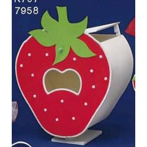 Κουτί φράουλα κόκκινο