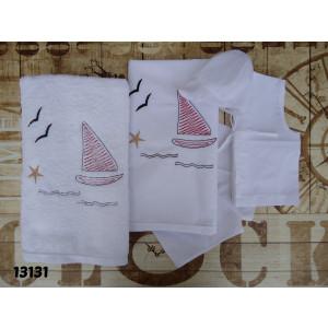 Λαδόπανο  καραβάκι ναυτικό (Κωδ.13131)