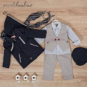 Ολοκληρωμένο πακέτο βάπτισηs με αυτό το κοστούμι (Picolo bambinoΦώτο05-310-170) Με βαλίτσα rain η θρανίο παγκάκι!!!!