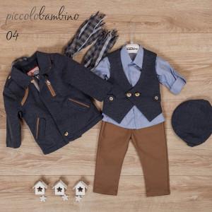 Ολοκληρωμένο πακέτο βάπτισηs με αυτό το κοστούμι (Picolo bambinoΦώτο02-312-170) Με βαλίτσα rain η θρανίο παγκάκι!!!!