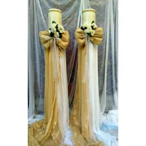 Λαμπάδες γάμου 2ΤΜΧ3012