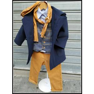 Ολοκληρωμένο σετ βάπτισης αγόρι Baby Bloom 719.311.022 Προσφορά Με βαλίτσα rain η θρανίο παγκάκι!!!!