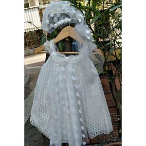 Ολοκληρωμένο σετ βάπτισης κορίτσι Piccolo Bambino 364.112.120 Με βαλίτσα rain η θρανίο παγκάκι!!!!