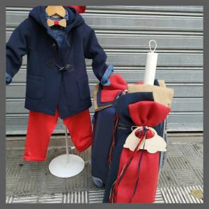 Ολοκληρωμένο σετ βάπτιισης αγόρι Vanessa Cardui 21209 Προσφορά Με βαλίτσα rain η θρανίο παγκάκι!!!!