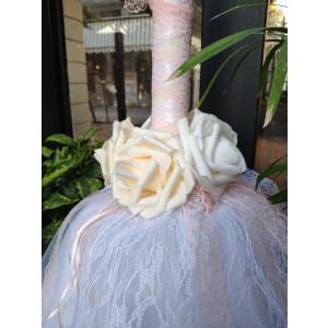 Λαμπάδα Τούλι Άφρο Λουλούδια ΜΑΚ10000